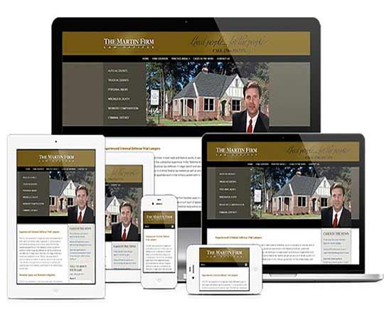 legal pro Media web design